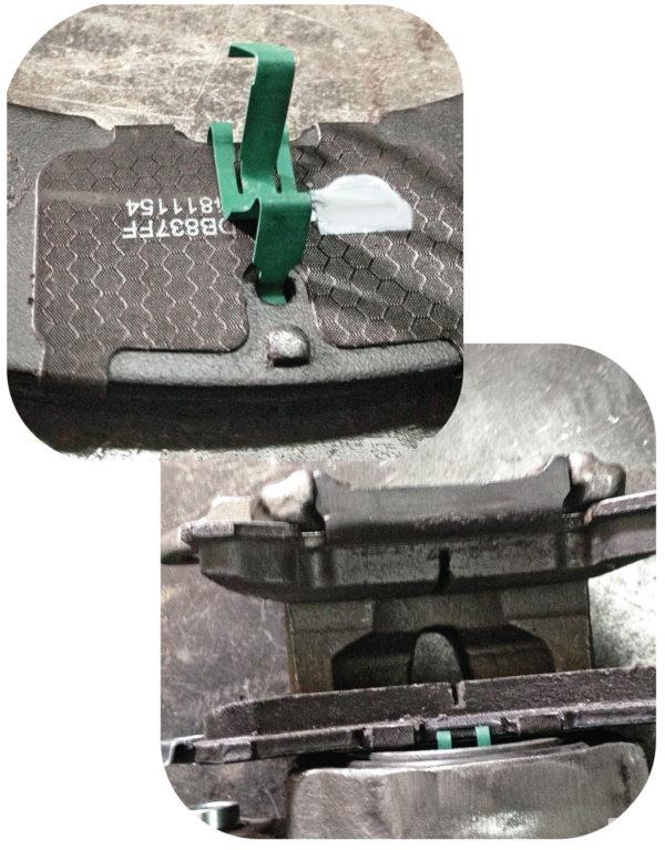 Disc Brake Pads for JTO Front or Rear Disc Brake Kits-9254