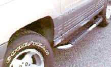 Grizzly Oval Side Bars 95.5-01 Tacoma Xtra Cab-0