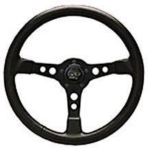 "Grant Formula GT 15"" Black 3 Spoke Steering Wheel-0"