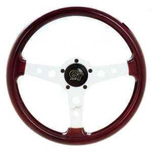 Grant Formula GT Mahogany Steering Wheel-0