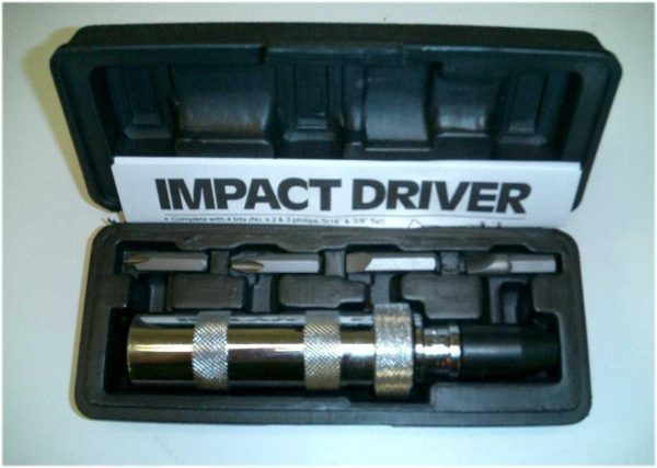 Impact Hammer with 4 Bits-0