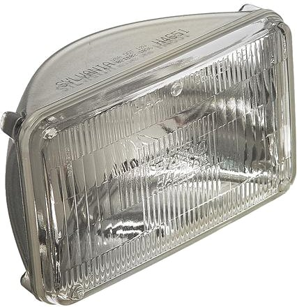 "Halogen 6.5x4"" HIGH BEAM head lamp light-0"
