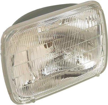 Halogen head lamp light 200mm Square-0