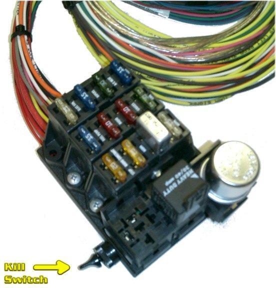 Wiring Harness for Toyota Land Cruiser FJ40 FJ45 FJ55-329