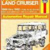 Repair Manual Book Toyota FJ40 FJ55 Land Cruiser Owners-0