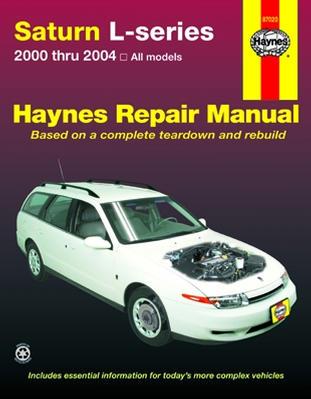 Workshop Repair Manual Book Saturn L Series 00-04 Owner-0