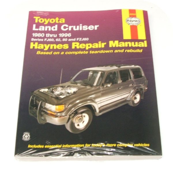 Manual Book Toyota Land Cruiser FJ60 FJ62 FzJ80 Owners-0