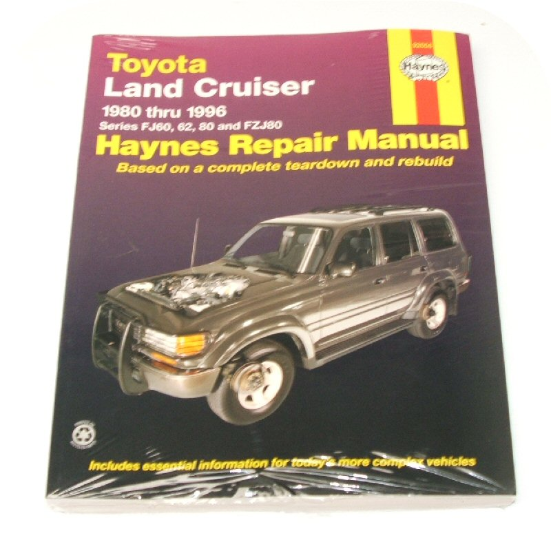 Manual Book Toyota Land Cruiser Fj60 Fj62 Fzj80 Owners