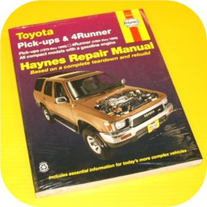 Repair Manual Book Toyota Pickup Truck 4Runner 79-95-0