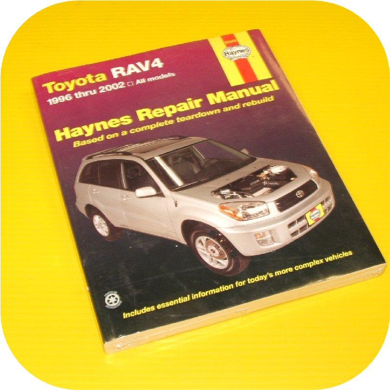 Repair Manual Book Toyota Rav4 Rav