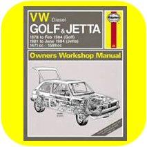 Repair Manual Book VW Rabbit Jetta Pickup diesel owners-0