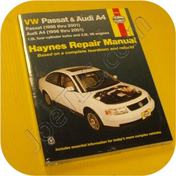Repair Manual Book Volkswagen Passat & Audi A4 Owners-0