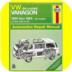 Repair Manual Book VW Vanagon Van Bus Volkswagen 80-83-0