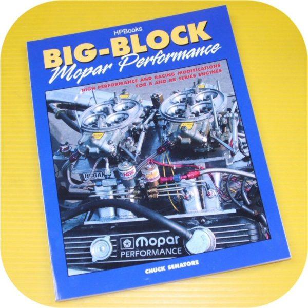 BB Mopar Engine Performance Book 383 413 426 Hemi 440 Dodge Chrysler Plymouth-0
