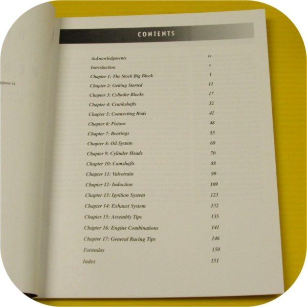 BB Mopar Engine Performance Book 383 413 426 Hemi 440 Dodge Chrysler Plymouth-7196