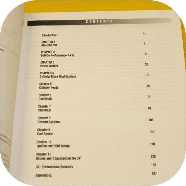 CHEVY LS1 LS6 Engine Performance Manual Camaro Corvette Intake Cylinder Head V8-5448
