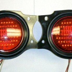 Early Toyota FJ40 Land Cruiser LED Tail Lights Lamps-0