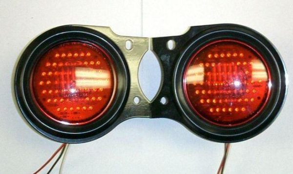 Early Toyota FJ40 Land Cruiser LED Tail Lights Lamps-0