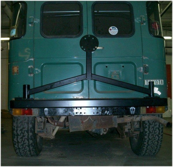 HD Spare Tire Carrier Bumper Toyota Land Cruiser FJ40-7217