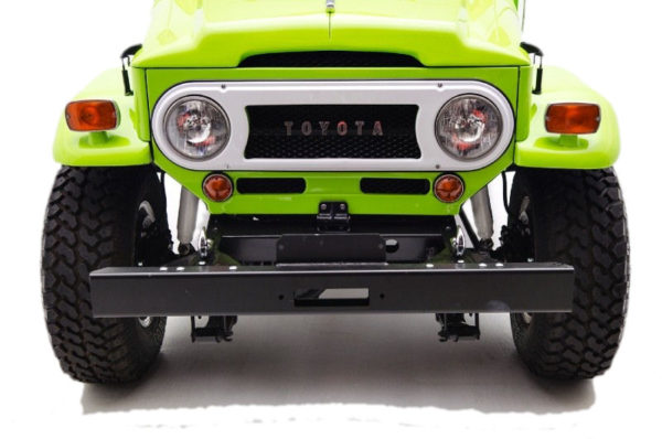HD Front Winch Mount Channel Bumper for Toyota Land Cruiser FJ40 FJ45-5081