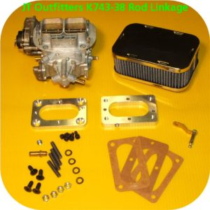 38/38 Weber Carb Kit for Land Cruiser (cable linkage)-0