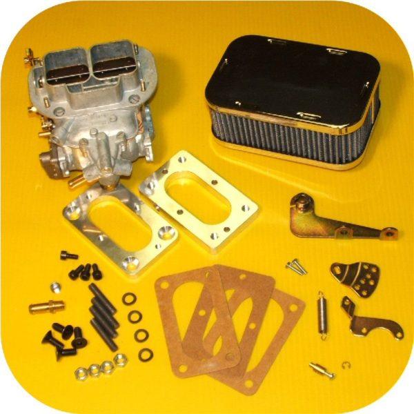 Weber Carb Kit Land Cruiser FJ40 FJ45 FJ55 32/36 Cable 68-73-0