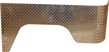 Aluminum Wrap-around Rear Full Quarter Panels (pair)-0