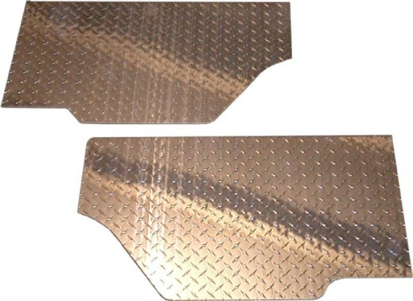 Diamond Plate Corner Skin for Toyota Land Cruiser FJ40-0