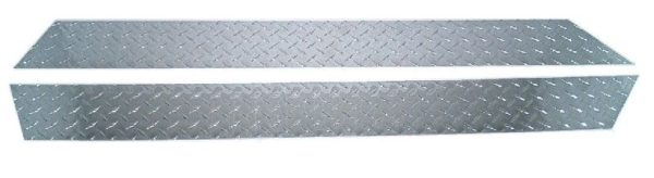 Aluminum Wrap-Around Side Rocker Panels (pair) - Diamondplate-0