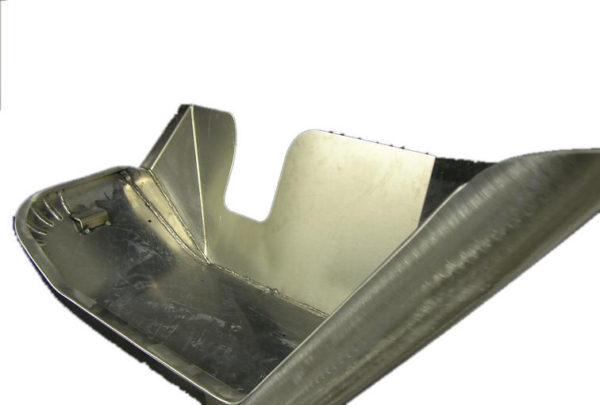 Aluminum Front Fenders w/ Inner Skirt (pair) Stock Width-917