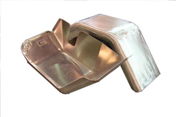 """Aluminum Front Fenders w/ Inner Skirt (pair) 3 1/2"""" Wider-913"""