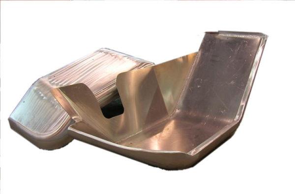 """Aluminum Front Fenders w/ Inner Skirt (pair) 3 1/2"""" Wider-914"""