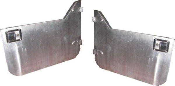 Aluminum Half Doors (pair)-0