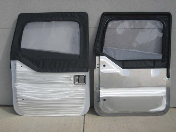 Aluminum Half Doors (pair) for use with Bestop Uppers-0