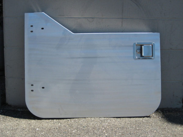 Aluminum Half Doors (pair) for use with Bestop Uppers-20762