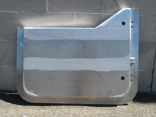 Aluminum Half Doors (pair) for use with Bestop Uppers-20763