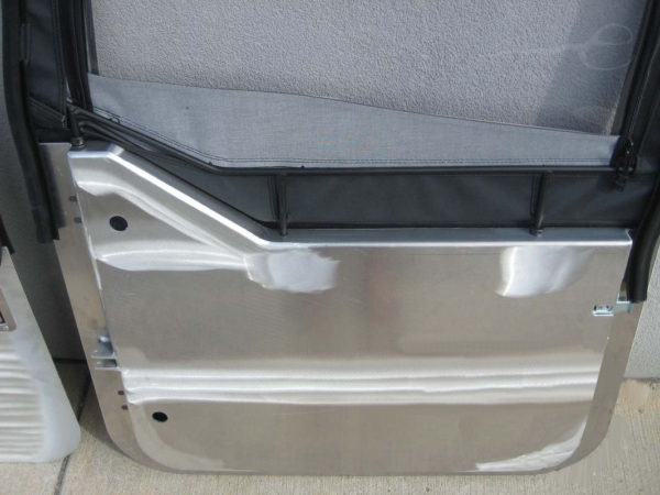 Aluminum Half Doors (pair) for use with Bestop Uppers-20764