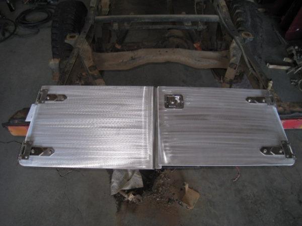 Aluminum Split Tailgate - 2 Piece Rear Half Doors-0