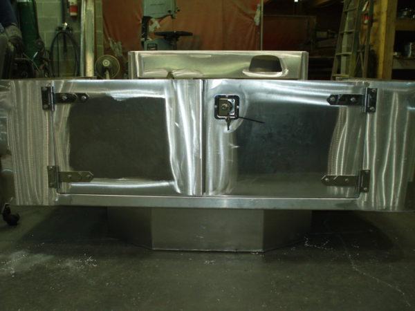 Aluminum Split Tailgate - 2 Piece Rear Half Doors-18904