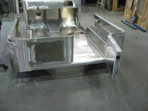 Aluminum Split Tailgate - 2 Piece Rear Half Doors-18905