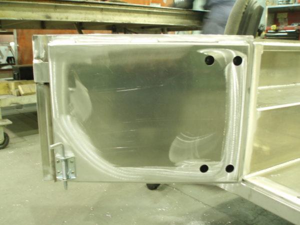 Aluminum Split Tailgate - 2 Piece Rear Half Doors-19260