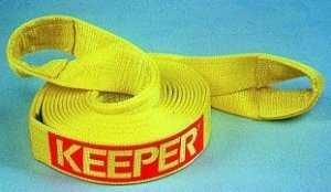 "Keeper Recovery Tow Strap: 20' X 2"" 15,000 Lb.-0"