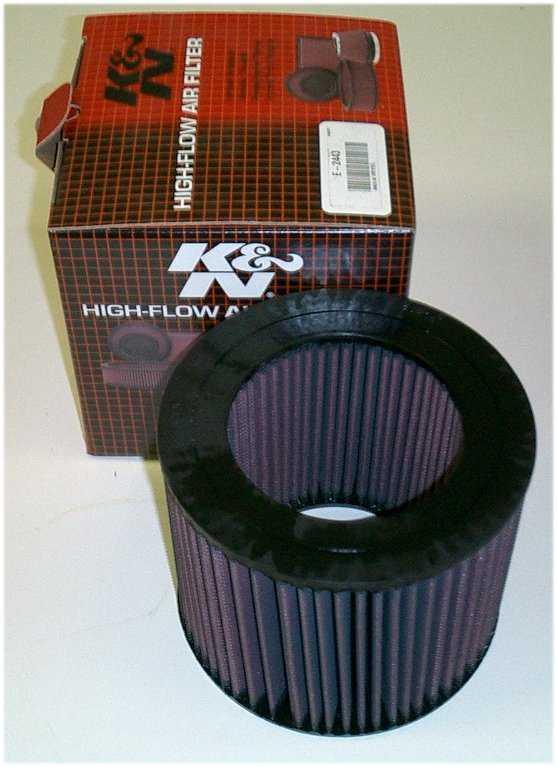 K&N Air Filter for 88-92 Land Cruiser-0