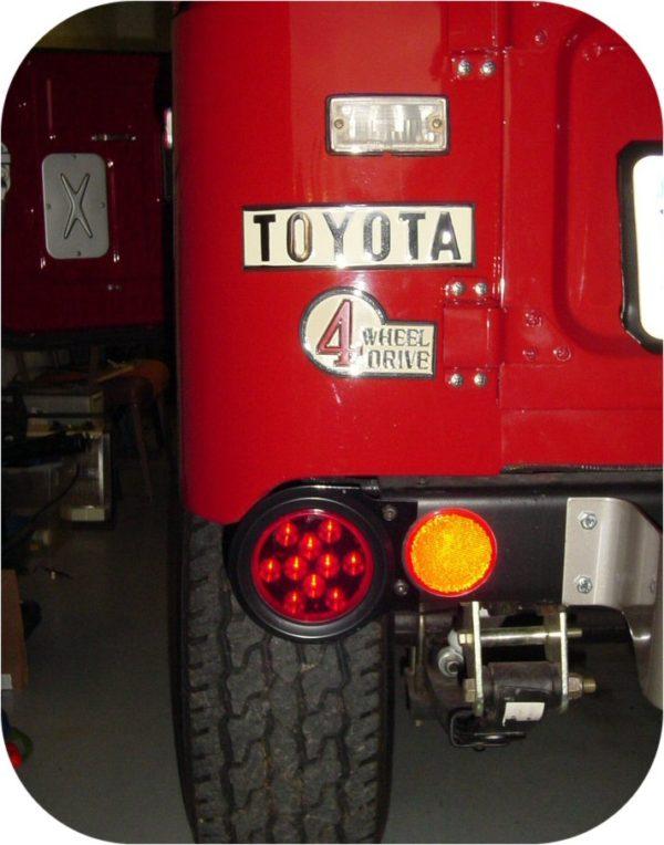 Early Toyota FJ40 Land Cruiser LED Tail Lights Lamps-1207
