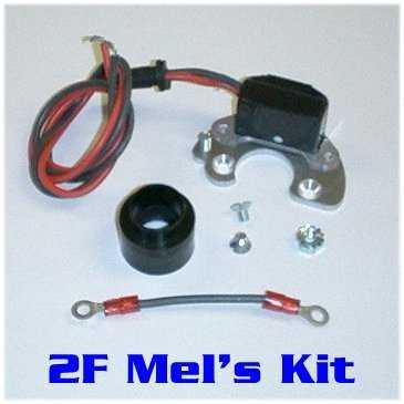 2F Mel's Electronic Ignition Conversion Kit-727