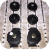 Motor Mount Kit for Toyota Land Cruiser FJ40 FJ45 2F Engine Tranny-0