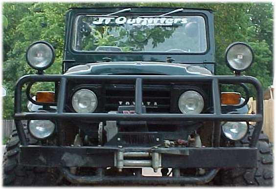 ARB Bull Bar with winch mount for FJ40 and FJ45-0