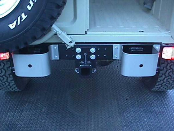 Receiver Trailer Tow Hitch Toyota Land Cruiser FJ40 hard top powder coated FJ80-1212