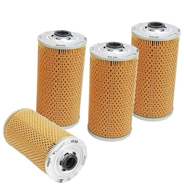 4 Oil Filters BMW 524td 524 td 83-86 E28 Kits-0