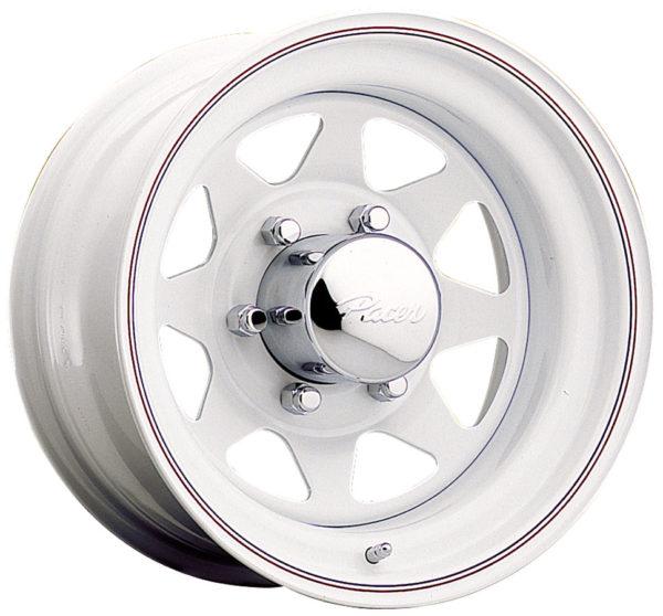 White Wagon Spoke Steel Wheel-0
